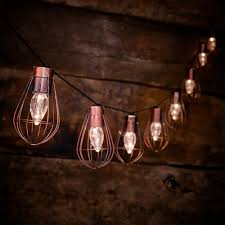 more views rustic cage string lights solar powered