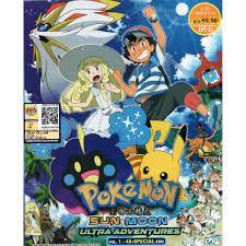 Anime DVD Pokemon Sun & Moon (Ultra Adventures) Vol.1-48 + Special