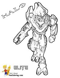 labeled halo elite coloring pages
