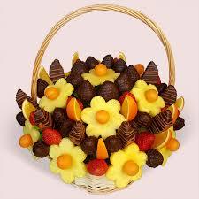 fruity gift dark king fruit basket dark chocolate dipped fruits fruitygift co uk