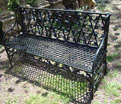 cast iron garden bench. Pair Of Cast Iron Garden Benches In The Gothic Style Bench H
