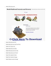 Layouts Downloads Model Train Layout Materials Model Railway Scenery Free Downloads
