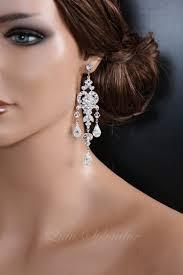 lighting amazing crystal chandelier earrings for wedding 11 long bridal and pearl vintage