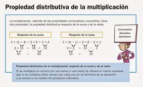 Resultado de imagen de propiedad distributiva