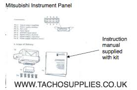 mitsubishi l200 tachograph fitting instructions mitsubishi tachograph fitting mitsubishi tachograph fitting instructions