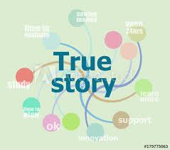 True Story Business Data Visualization Process Chart Buy