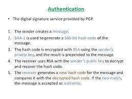 Pretty Good Privacy Pgp Pretty Good Privacy