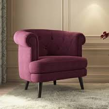 furniture chairs. Bardot Lounge Chair (Wine Red) By Urban Ladder Furniture Chairs