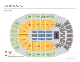 Rivers Casino Event Center Seating Chart Seating Charts Gila River Arena