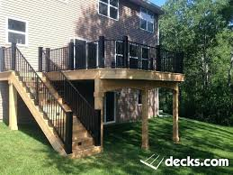 deck builders seattle large covered by amazing decks v77