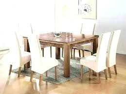 large round dining table seats 8 square tables seating glass