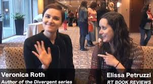 video interview veronica roth talks a lot about allegiant divergent book 3