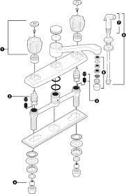 Replacing A Kitchen Faucet Faucet Parts Repair Kekoascom