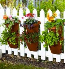 Hanging Fence Planter