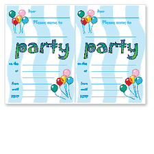 free birthday invitation template for kids kids party invitations to print free birthday party invitation