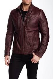 image of boss naquinn leather jacket