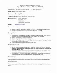 Objective For Pharmacy Resume 70 Unique Image Of Sample Resume Objectives Pharmacy Technician