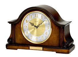 best bulova mantel clocks