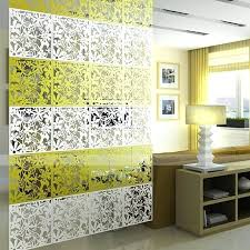 erfly flower bird hanging screen panel room divider partition wall sticker yellow diy sliding each diy partition wall