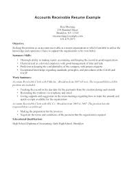 accounts receivables resumes accounts payable resume template example account receivable and