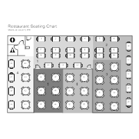 Restaurant Table Seating Chart Template Www