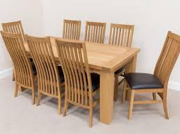 Dining Table 8 Chairs Oak Dining Tables Esstisch Tisch