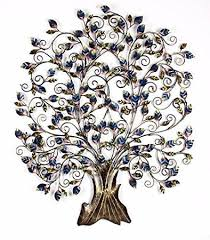 Small Picture Buy Shivay Arts Contemporary Foldable Metal Tree Wall Decor Wall