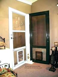 how to install a doggy door pet installation internal back with