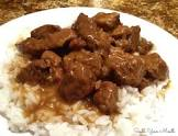 beef over rice