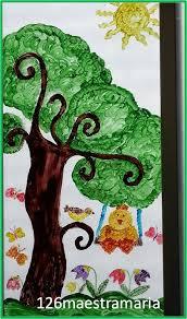 Decorazioni Finestre Scuola Primaria : Primavera addobbi per aula maestramaria