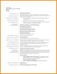 Nurse Educator Curriculum Vitae Example Teachersume Templates Free