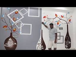 modern wall art painting design for
