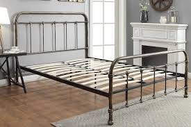 Sleep Design Burford 4ft6 Double Rustic Metal Bed Frame by Sleep Design
