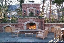 fresh ideas brick outdoor fireplace good looking outdoor fireplaces fire pits kansas city kansas ks