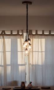 lighting mason jar light chandelier home design fixture tutorial
