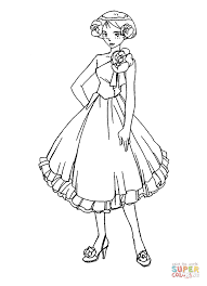 Alex in dress coloring page totally spies coloring pages free coloring pages on totally spies coloring pages