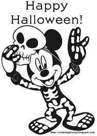 ディズニーのハロウィンイラスト無料でもこれなら充分可愛い