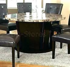 amazing home traditional round granite dining table in wood and stone set shape round granite