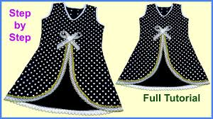 Diy Designer Baby Frock Cutting And Stitching Full Tutorial Pin On Costura