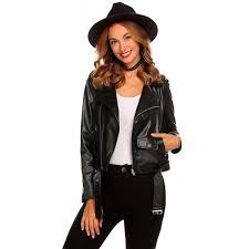 summerrio womens leather er jackets