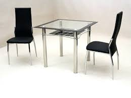 small glass dining table with 4 chairs in hyderabad