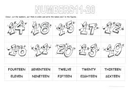 Counting To Mama Bird Education Math And Number 20 Worksheets For ...