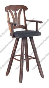 Canadel Champlain Swivel Bar Stool With Arms  STO 1261 Canadel Bar Stools42