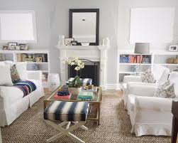 slipcover furniture in the living room