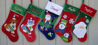 Blue Skating Snowman Personalized Christmas Stocking Embroidered ...