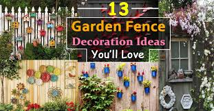 Stunning Ideas For Decorative Garden Fence Decorative Garden Fencing Ideas  Cadagu
