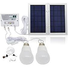 8W Led Solar Home Light With Mobile Charger Tips  MRD426 Solar Led Lights For Homes