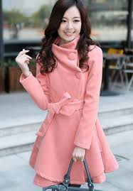 2 cool and stylish bow belt coat for