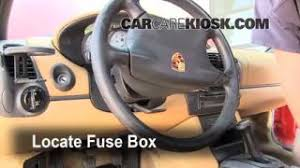 interior fuse box location 1997 2004 porsche boxster 1998 blown fuse check 1997 2004 porsche boxster