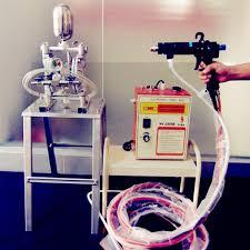 electrostatic liquid paint spray